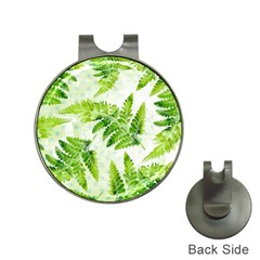 Fern Leaves Hat Clips with Golf Markers