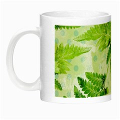 Fern Leaves Night Luminous Mugs by DanaeStudio