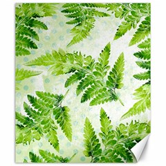 Fern Leaves Canvas 20  X 24