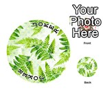 Fern Leaves Playing Cards 54 (Round)  Front - Joker1