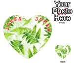 Fern Leaves Playing Cards 54 (Heart)  Front - Joker2