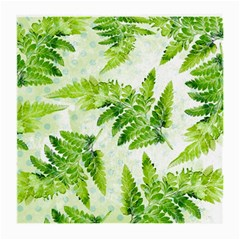 Fern Leaves Medium Glasses Cloth by DanaeStudio