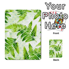 Fern Leaves Multi Purpose Cards (rectangle)