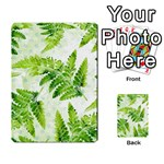 Fern Leaves Multi-purpose Cards (Rectangle)  Frontback