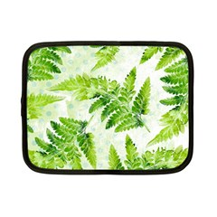 Fern Leaves Netbook Case (small)  by DanaeStudio