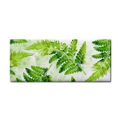 Fern Leaves Hand Towel by DanaeStudio