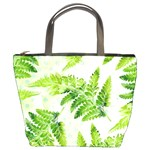 Fern Leaves Bucket Bags Front