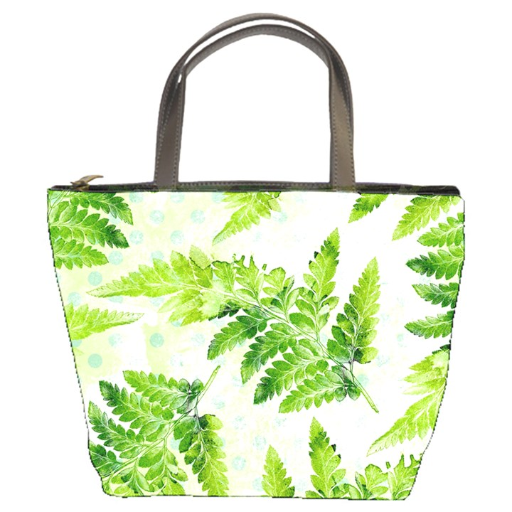 Fern Leaves Bucket Bags