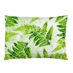 Fern Leaves Pillow Case by DanaeStudio