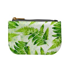 Fern Leaves Mini Coin Purses