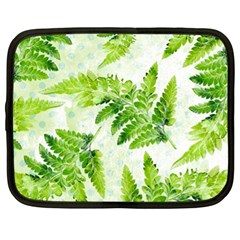 Fern Leaves Netbook Case (xl)  by DanaeStudio