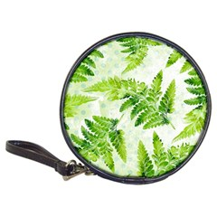 Fern Leaves Classic 20 Cd Wallets by DanaeStudio