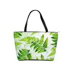 Fern Leaves Shoulder Handbags
