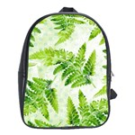 Fern Leaves School Bags(Large)  Front