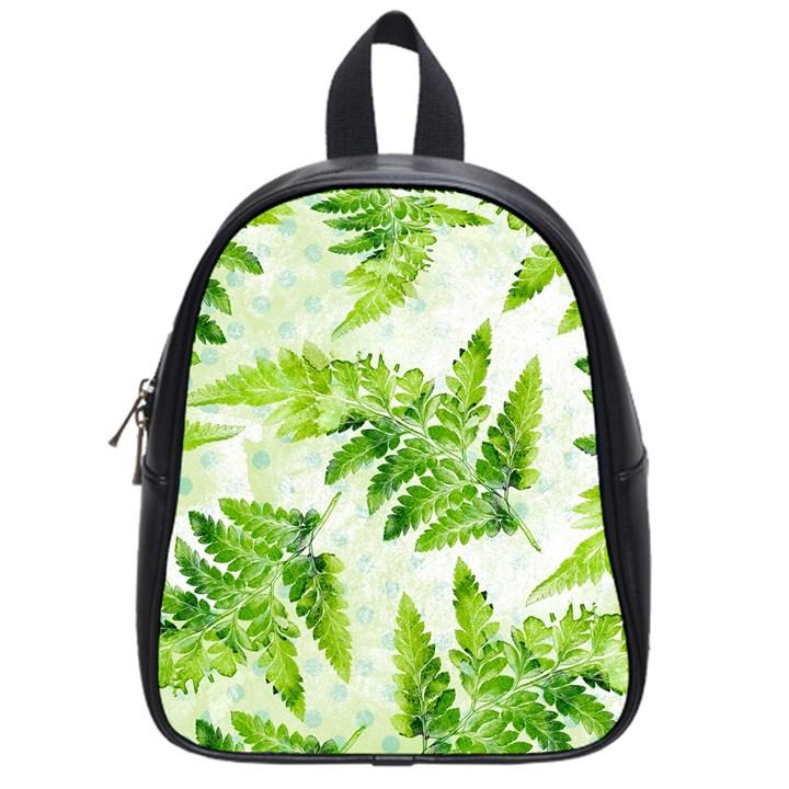 Fern Leaves School Bags (Small)