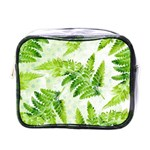 Fern Leaves Mini Toiletries Bags Front