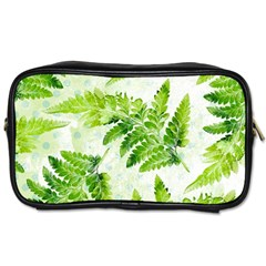 Fern Leaves Toiletries Bags 2-Side