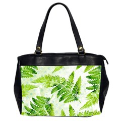 Fern Leaves Office Handbags (2 Sides)  by DanaeStudio