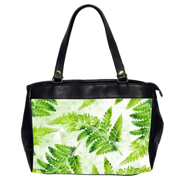 Fern Leaves Office Handbags (2 Sides)