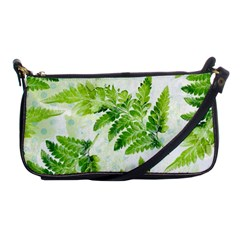 Fern Leaves Shoulder Clutch Bags