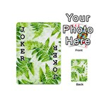 Fern Leaves Playing Cards 54 (Mini)  Front - Joker1