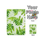 Fern Leaves Playing Cards 54 (Mini)  Back