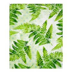 Fern Leaves Shower Curtain 60  x 72  (Medium)