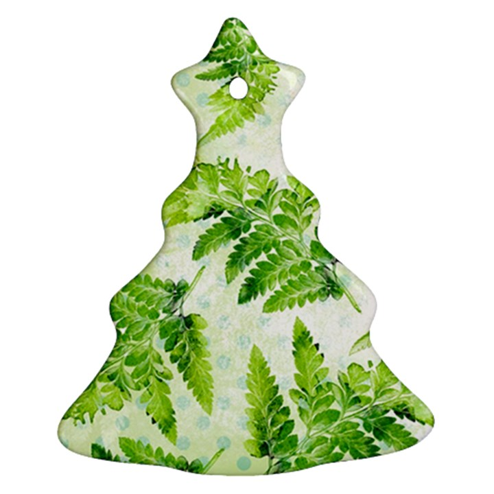 Fern Leaves Ornament (Christmas Tree)