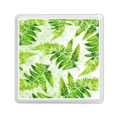 Fern Leaves Memory Card Reader (square)  by DanaeStudio