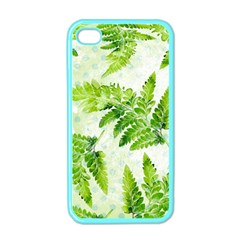 Fern Leaves Apple iPhone 4 Case (Color)