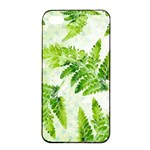 Fern Leaves Apple iPhone 4/4s Seamless Case (Black) Front