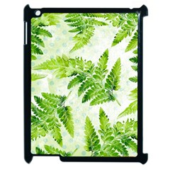 Fern Leaves Apple iPad 2 Case (Black)