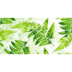 Fern Leaves YOU ARE INVITED 3D Greeting Card (8x4)