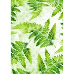 Fern Leaves LOVE Bottom 3D Greeting Card (7x5) Inside