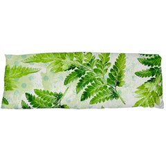 Fern Leaves Body Pillow Case (dakimakura) by DanaeStudio