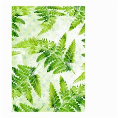 Fern Leaves Small Garden Flag (two Sides)