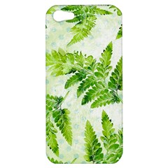 Fern Leaves Apple iPhone 5 Hardshell Case