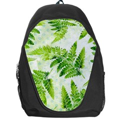 Fern Leaves Backpack Bag by DanaeStudio