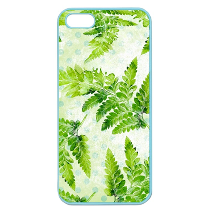 Fern Leaves Apple Seamless iPhone 5 Case (Color)