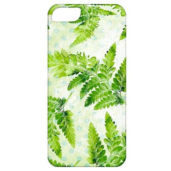 Fern Leaves Apple iPhone 5 Classic Hardshell Case