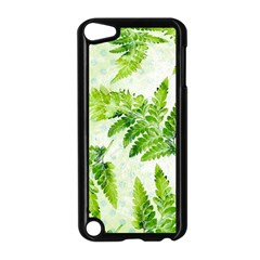 Fern Leaves Apple Ipod Touch 5 Case (black) by DanaeStudio