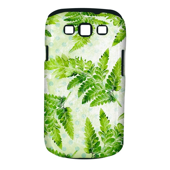 Fern Leaves Samsung Galaxy S III Classic Hardshell Case (PC+Silicone)