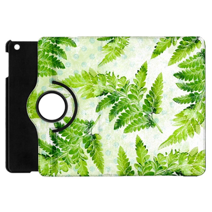 Fern Leaves Apple iPad Mini Flip 360 Case
