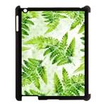 Fern Leaves Apple iPad 3/4 Case (Black)