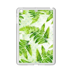 Fern Leaves Ipad Mini 2 Enamel Coated Cases by DanaeStudio
