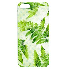 Fern Leaves Apple iPhone 5 Hardshell Case with Stand