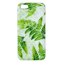 Fern Leaves Apple iPhone 5 Premium Hardshell Case