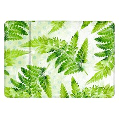 Fern Leaves Samsung Galaxy Tab 8 9  P7300 Flip Case by DanaeStudio