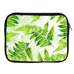Fern Leaves Apple iPad 2/3/4 Zipper Cases Front
