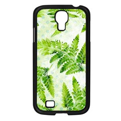 Fern Leaves Samsung Galaxy S4 I9500/ I9505 Case (black) by DanaeStudio